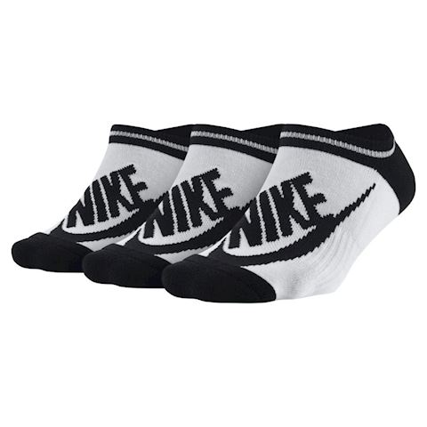 Nike Sportswear Striped No-Show Socks (3 Pair) - White Image