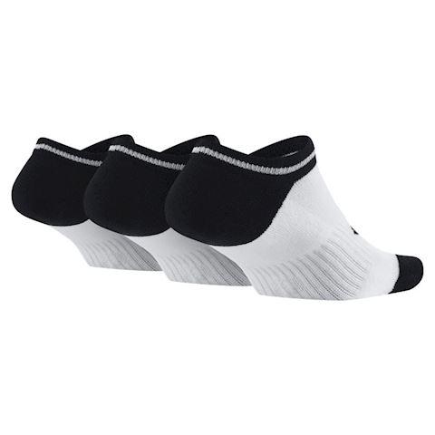 Nike Sportswear Striped No-Show Socks (3 Pair) - White Image 2
