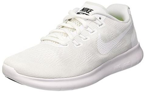 Nike Free RN 2017 Women's Running Shoe - White Image