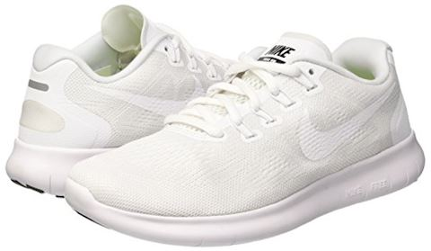Nike Free RN 2017 Women's Running Shoe - White Image 5