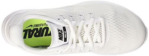 Nike Free RN 2017 Women's Running Shoe - White Image 7