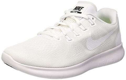 Nike Free RN 2017 Women's Running Shoe - White Image 8