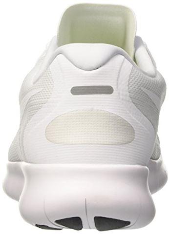 Nike Free RN 2017 Women's Running Shoe - White Image 9