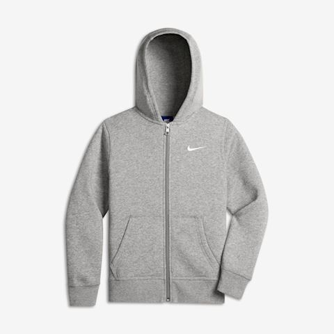 Nike Sportswear Kids' Full-Zip Hoodie - Grey Image