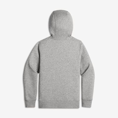 Nike Sportswear Kids' Full-Zip Hoodie - Grey Image 2