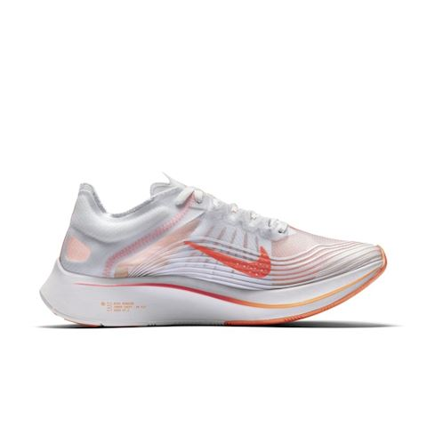 Nike Zoom Fly SP Women's Running Shoe - White Image 3