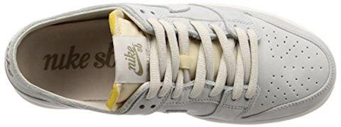 Nike SB Zoom Dunk Low Pro Deconstructed Men's Skateboarding Shoe - Cream Image 7