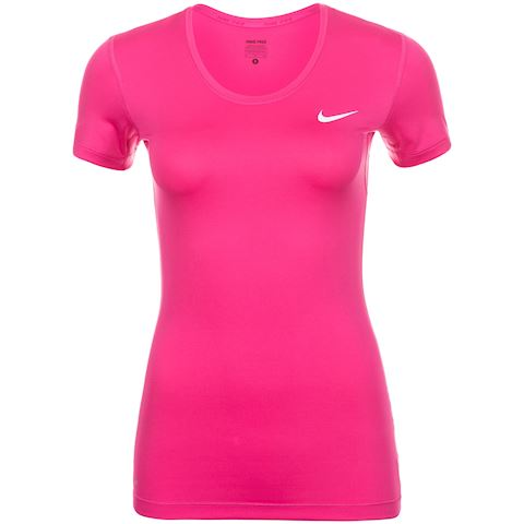 Nike Pro Women's Short-Sleeve Training Top - Pink