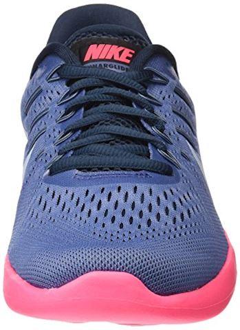 Nike LunarGlide 8 Women's Running Shoe - Blue Image 4