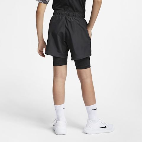 Nike Older Kids' (Boys') Hybrid Training Shorts - Black Image 2