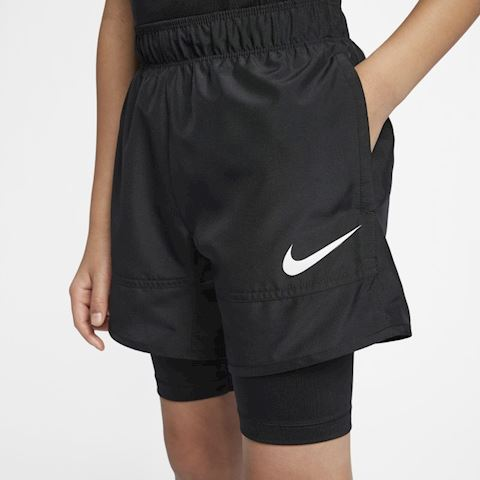 Nike Older Kids' (Boys') Hybrid Training Shorts - Black Image 3