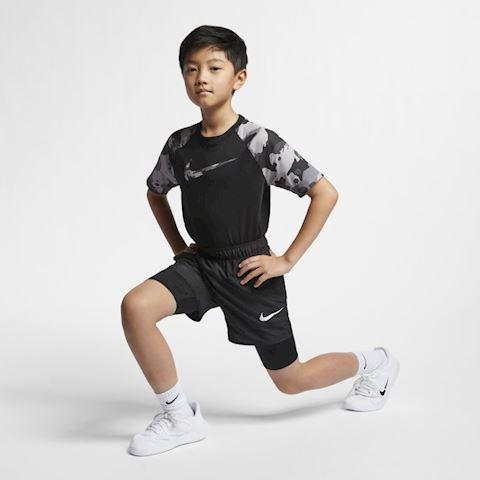 Nike Older Kids' (Boys') Hybrid Training Shorts - Black Image 4