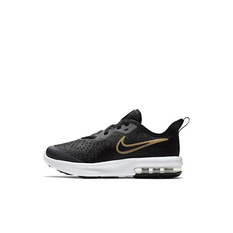 Nike Air Max Sequent 4 Shine Younger Kids' Shoe - Black Image