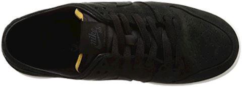 Nike SB Zoom Dunk Low Pro Deconstructed Men's Skateboarding Shoe - Black Image 7