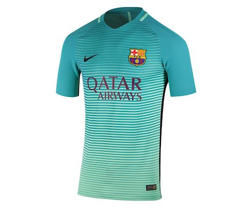 Nike Barcelona Mens SS Player Issue Third Shirt 2016/17 Image