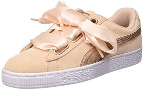 Puma  SUEDE HEART LUNALUX W'S  women's Shoes (Trainers) in Pink Image