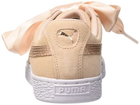 Puma  SUEDE HEART LUNALUX W'S  women's Shoes (Trainers) in Pink Image 2