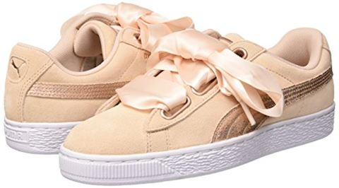 Puma  SUEDE HEART LUNALUX W'S  women's Shoes (Trainers) in Pink Image 5