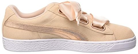 Puma  SUEDE HEART LUNALUX W'S  women's Shoes (Trainers) in Pink Image 6