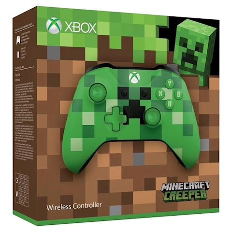 Xbox One Wireless Controller - Minecraft Creeper Image