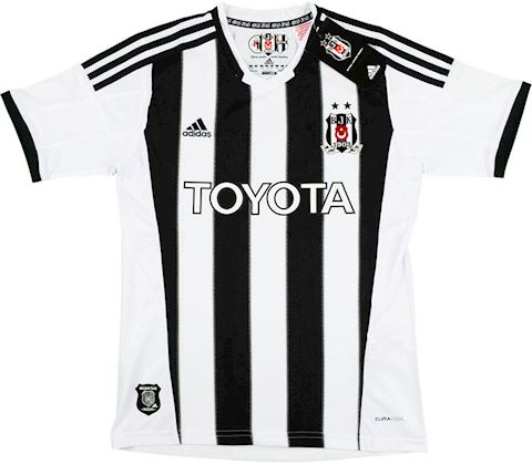 adidas Besiktas Kids SS Home Shirt 2013/14 Image