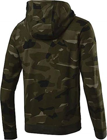 Nike Sportswear Club Fleece Men's Full-Zip Camo Hoodie - Olive Image 2