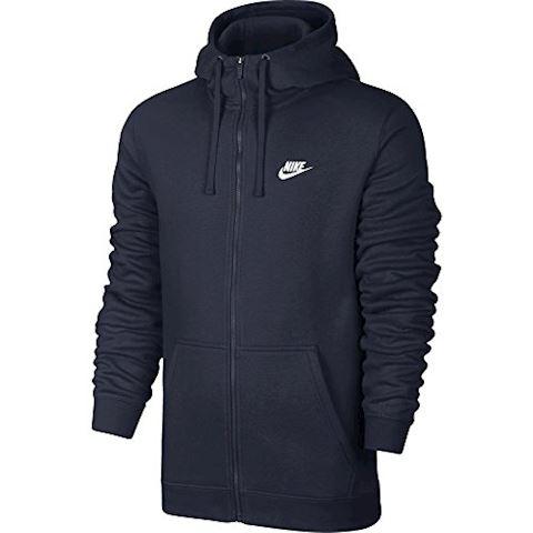 Nike Sportswear Full-Zip Men's Hoodie - Blue Image