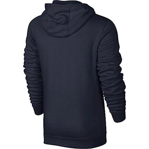 Nike Sportswear Full-Zip Men's Hoodie - Blue Image 2