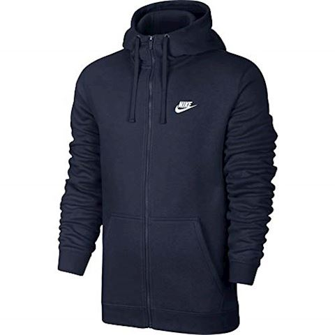 Nike Sportswear Full-Zip Men's Hoodie - Blue Image 3