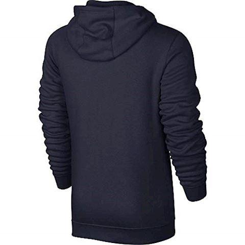 Nike Sportswear Full-Zip Men's Hoodie - Blue Image 4