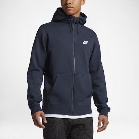 Nike Sportswear Club Fleece Men's Hoodie - Blue Image