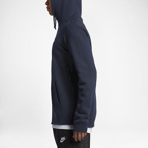 Nike Sportswear Club Fleece Men's Hoodie - Blue Image 3