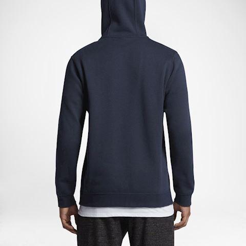 Nike Sportswear Club Fleece Men's Hoodie - Blue Image 4