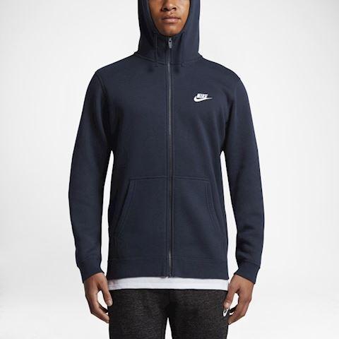 Nike Sportswear Club Fleece Men's Hoodie - Blue Image 5