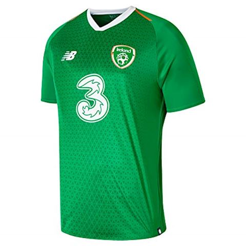 New Balance Republic of Ireland Mens SS Home Shirt 2018 Image