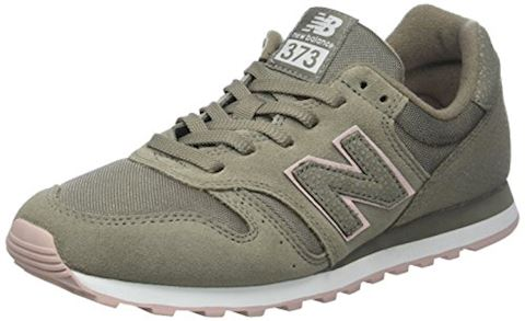 New Balance  WL373  women's Shoes (Trainers) in Green Image
