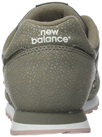 New Balance  WL373  women's Shoes (Trainers) in Green Image 2