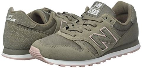 New Balance  WL373  women's Shoes (Trainers) in Green Image 5