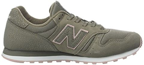 New Balance  WL373  women's Shoes (Trainers) in Green Image 6