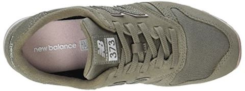New Balance  WL373  women's Shoes (Trainers) in Green Image 7